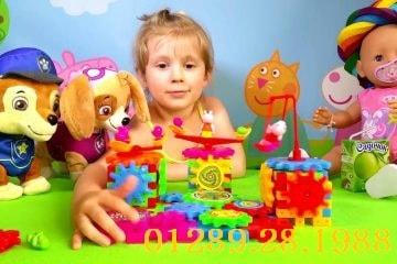 Bộ đồ chơi xếp hình chuyển động cho bé