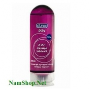 Gel bôi trơn Durex Play Massage 2 in 1 - 200ml