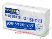 Bao cao su siêu mỏng Sagami Original 0.02 Quick