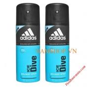 Xịt khử mùi Adidas Ice Dive cho nam