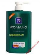 Sữa tắm Romano classic 650ml cho nam