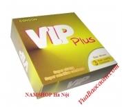 Phát miễn phí bao cao su Vip Plus tại Hà Nội giá 0 đồng