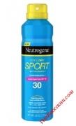 Chai xịt chống nắng cho nam Neutrogena CoolDry Sport SPF 70