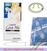 Giảm ngay 30% khi mua 5 hộp bao cao su Sagami Love Me