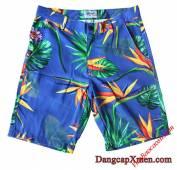 Quần hoa nhiệt đới nam mặc đi biển qs19
