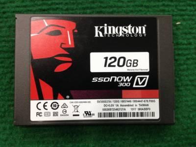 Ổ cứng ssd kingston 120gb, mới 100%, BH 36 tháng