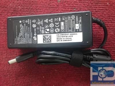 Sạc laptop dell 19V-3.42A, sạc zin chính hãng