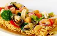 Mì xào giòn hải sản