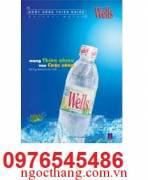 Nươc tinh khiet wells 350 ml