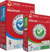 Phần Mềm Diệt Virus TREND MICRO Internet Security 2015, 2016