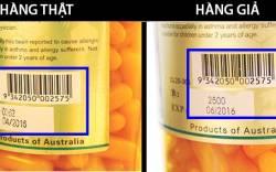Hướng dẫn phân biệt sữa Úc thật giả