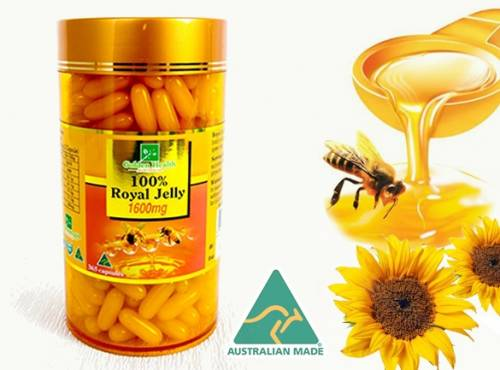 Giá sữa ong chúa Úc Royal Jelly  tại Mapu