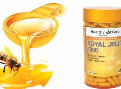 Những lợi ích bất ngờ đối với sức khỏe và sắc đẹp từ sữa ong chúa Úc