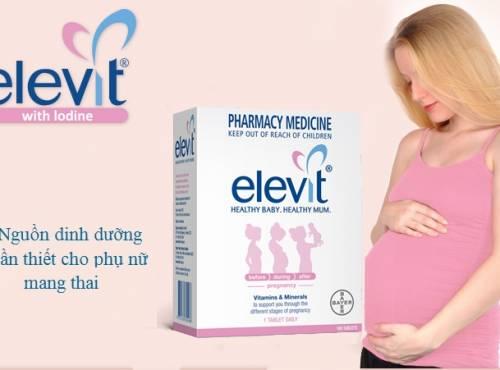 Ưu điểm của sản phẩm dành cho bà bầu Elevit Healthy Baby Mum