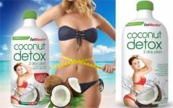 Thanh lọc cơ thể với FatBlaster Coconut Detox 2 day plan