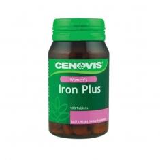 Thuốc bổ tim mach, lưu thông máu Cenovis Iron plus