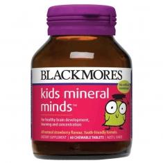 Kids Mineral Mind - Viên uống bổ não cho trẻ từ 2 -12 tuổi