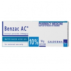 Benzac AC Gel 10% 50g Trị mụn