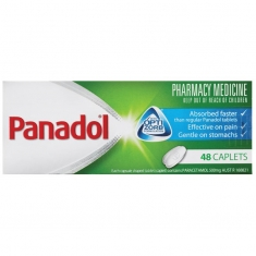 Panadol Caplets with Optizorb 48 viên
