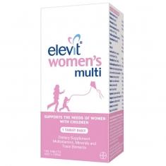 Vitamin Tổng Hợp Elevit cho Phụ Nữ Sau khi Sinh Women's Multi, 100 viên
