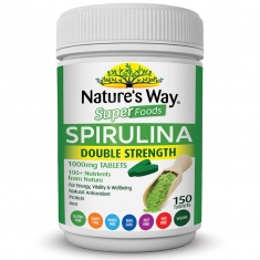Tảo xoắn Nature's Way Super Spirullina 1000mg 150 viên