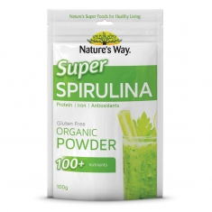 Tảo xoắn Nature's Way Super Food Spirulina 100g
