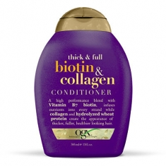 DẦU XẢ OGX Thick and Full Biotin and Collagen Conditioner 385ml