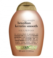 Dầu gội  OGX Brazilian Keratin Therapy Ever Straight Shampoo 385mL
