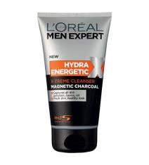Sữa rửa mặt siêu sạch cho nam giới Men Expert Magnetic Charcoal Extreme Cleanser   150mL
