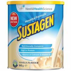 SỮA DINH DƯỠNG SUSTAGEN VỊ VANILLA 900G (công thức bệnh viện)