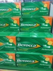 Viên sủi tăng lực Berocca 30 viên (vị cam)