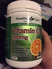 VIÊN UỐNG BỔ SUNG VITAMIN C HEALTHY CARE 500 VIÊN