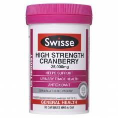 Hỗ trợ sức khoẻ đường tiết niệu Swisse Ultiboost High Strength Cranberry 30
