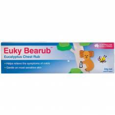 Dầu trị ho, ấm ngực Euky Bearub Eucalyptus Chest Rub 50g