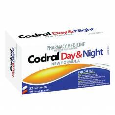 Thuốc trị cảm cúm Codral PE Cold & Flu Day & Night 48 viên