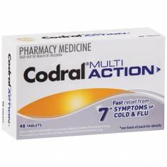 Thuốc trị cảm Codral Multi Action 48 viên