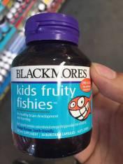 Giúp trẻ phát triển não và học tập Kids Fruity Fishies 30 viên