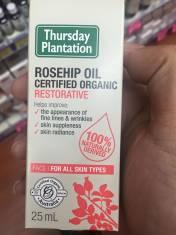 Tinh dầu Rosehip oil giúp đẹp da trẻ lâu, giảm nhăn, hết rạn da
