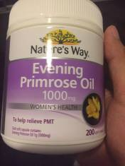 Tinh dầu hoa Anh Thảo Evening Primrose Oil Nature's way 200 viên