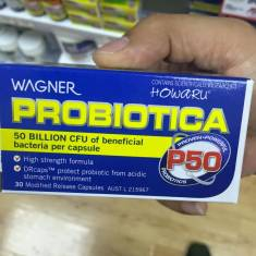 WAGNER PROBIOTICA P50 30 VIÊN-Cải thiện chức năng ruột, tăng sức đề kháng cho mẹ và bé