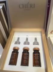 Serum Cheri Bio Placenta giúp làm giảm các đốm đen, căng da mặt.