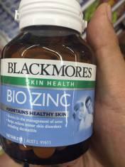 Viên uống bổ sung kẽm tự nhiên Blackmores Bio Zinc 168 viên