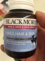 Blackmores Nails, Hair and Skin Giúp Da, Móng Và Tóc Chắc Khỏe, Giảm Gãy Rụng