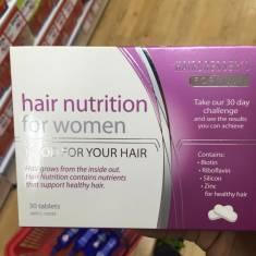 Bổ sung dinh dưỡng cho tóc Hair Nutrition for women