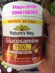 Viên uống bổ khớp Nature's Way Glucosamine hàm lượng 1500mg của Úc