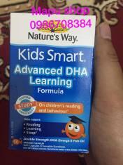 VIÊN UỐNG BỔ SUNG DHA TĂNG CƯỜNG KHẢ NĂNG HỌC TẬP CHO BÉ KIDS SMART - 50 VIÊN, VỊ CAM