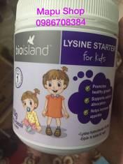 Tăng chiều cao dạng bột cho bé BIO ISLAND LYSINE