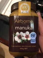 Mật ong hảo hạng Manuka 70+ Airborne 500g