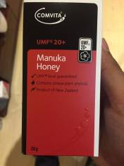 Mật ong Manuka Comvita UMF 20+ Tương đương MGO 400+ loại tốt nhất bây giờ.