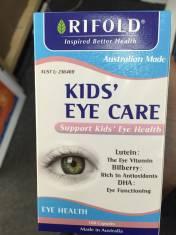 Vitamin bổ mắt cho bé Kids eye care 100 viên